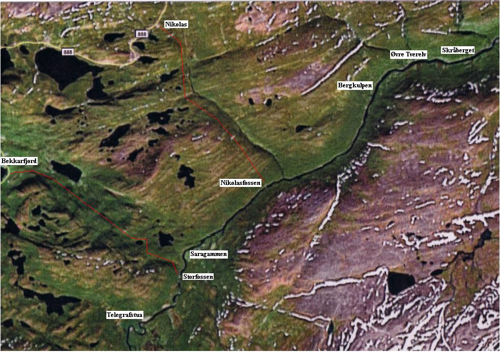 ifjordfjellet kart Langfjord River ifjordfjellet kart